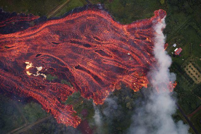 Εκρηξη Κιλαουέα: Εικόνες πέρα από κάθε φαντασία   tanea.gr