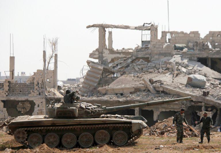 Συρία: Υπό τον πλήρη έλεγχο του στρατού η Δαμασκός | tanea.gr
