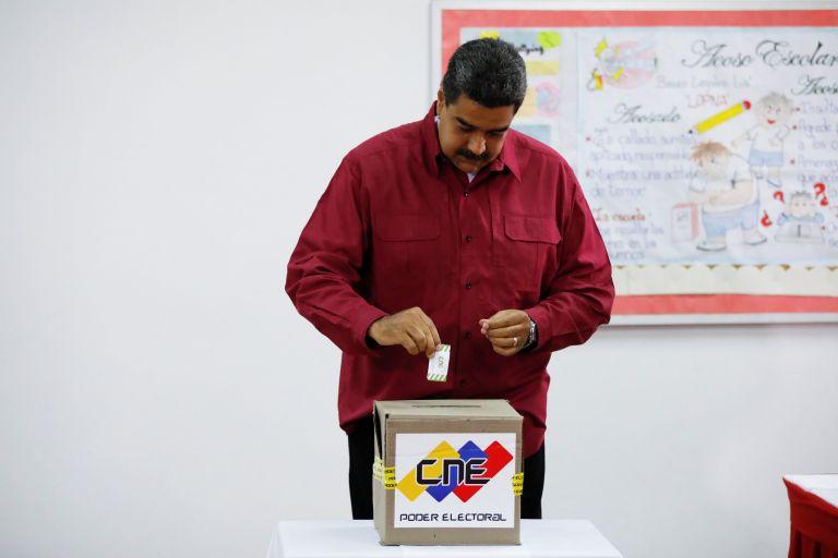 Ανοιξαν οι κάλπες στη Βενεζουέλα   tanea.gr