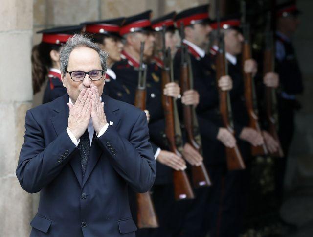 Φρένο στην κυβέρνηση της Καταλωνίας | tanea.gr