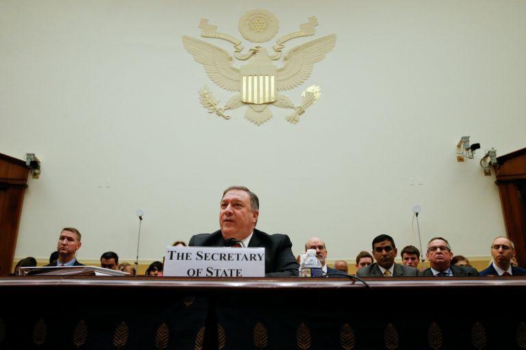 Πομπέο: Πρόκληση για τα συμφέροντα των ΗΠΑ η Ρωσία | tanea.gr
