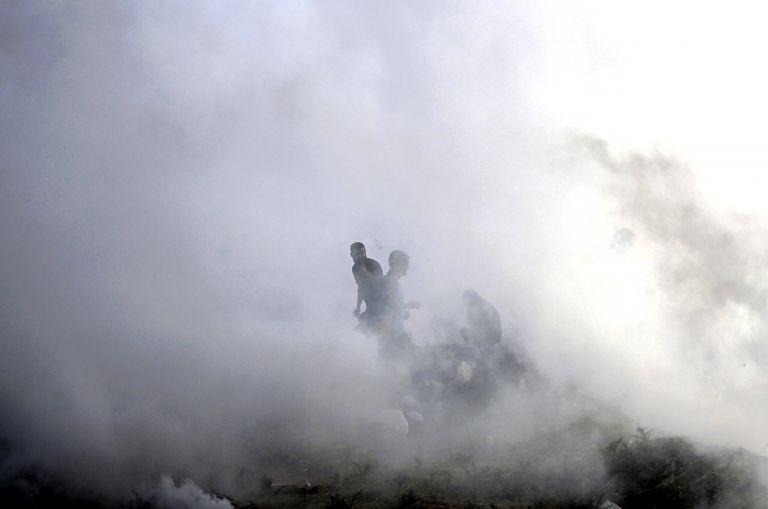 Τρεις παλαιστίνιοι νεκροί σε ισραηλινούς βομβαρδισμούς   tanea.gr