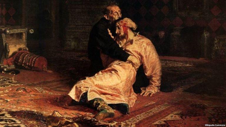 Επίθεση στον πίνακα «Ιβάν ο Τρομερός και ο γιος του» | tanea.gr