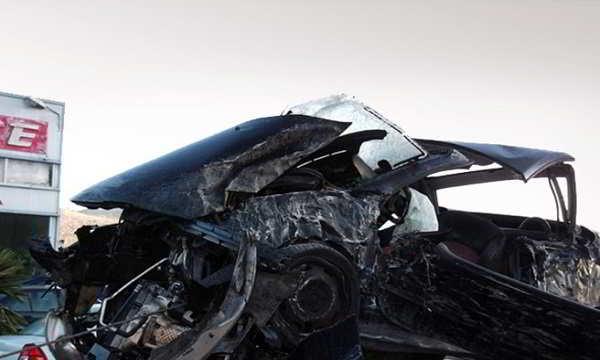 Τραγωδία στα Τρίκαλα: Ετσι έπεσε το αυτοκίνητο στη χαράδρα | tanea.gr