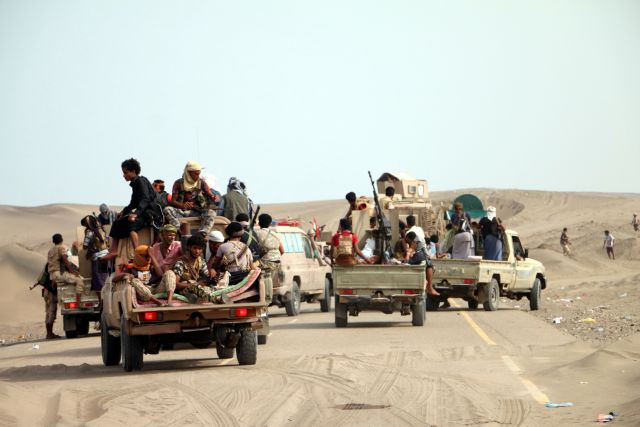 Προέλαση κυβερνητικών δυνάμεων στην Υεμένη   tanea.gr