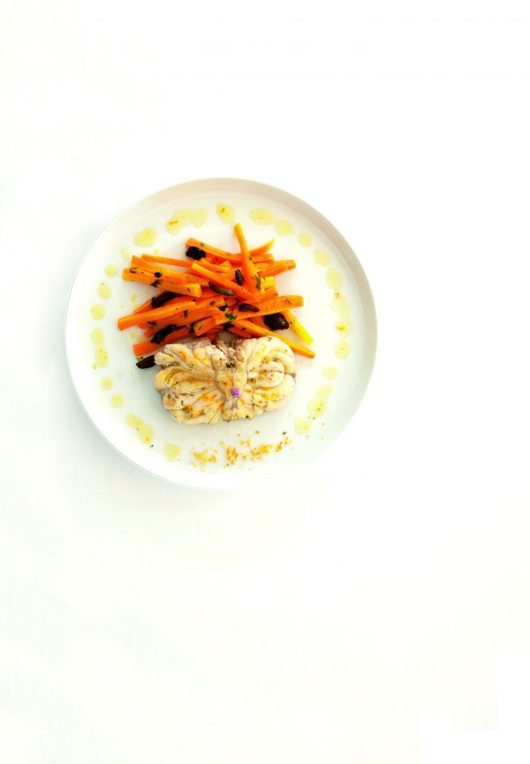 Φιλέτο ψαριού στο φούρνο με λαχανικά | tanea.gr