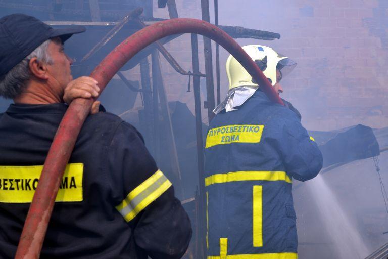 Μεγάλη φωτιά στην Πισσώνα Ευβοίας | tanea.gr