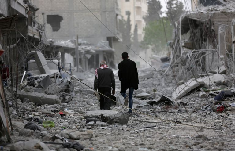 Εννέα νεκροί στο Αφρίν από διπλή βομβιστική επίθεση   tanea.gr