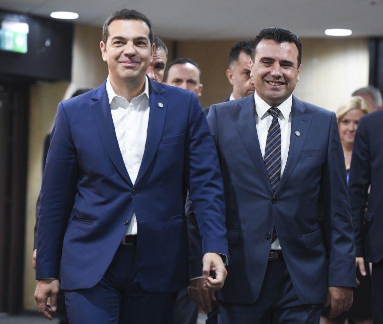 Optimism regarding FYROM solution after Tsipras, Zaev talks | tanea.gr