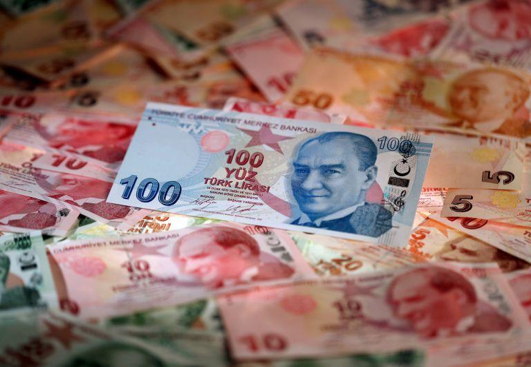 Τουρκία: Υποχώρηση σχεδόν 2% της λίρας | tanea.gr