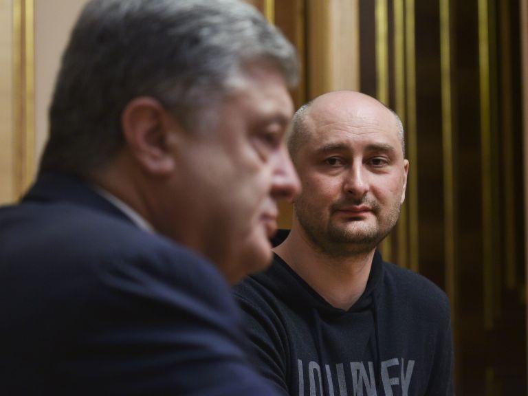 Ποροσένκο: Δικαιολόγησε την ψεύτικη δολοφονία του Μπάμπτσενκο   tanea.gr