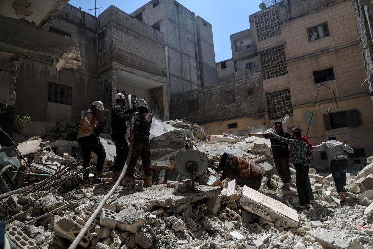 Συρία: Ανησυχία ΟΗΕ για τους 2,5 εκτοπισμένους αμάχους της Ιντλίμπ | tanea.gr