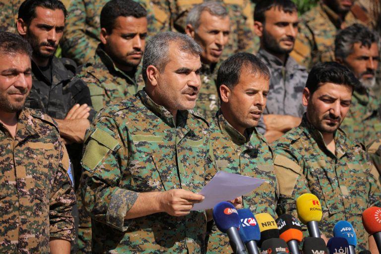 Συρία: Καμία ανοχή τουρκικής στρατιωτικής παρουσίας στην Μανμπίτζ | tanea.gr