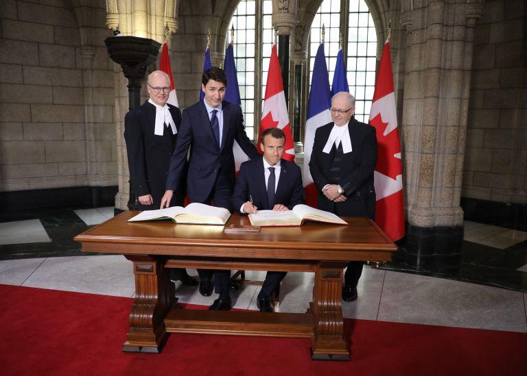 G7: Γαλλία και Καναδάς δεν υπογράφουν το κοινό ανακοινωθέν των ΗΠΑ   tanea.gr