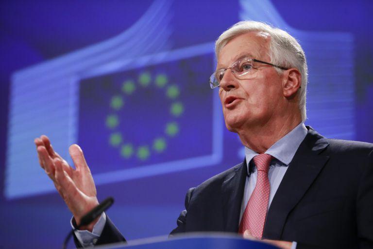 Μπαρνιέ: Μη εφαρμόσιμη η βρετανική πρόταση για τα ιρλανδικά σύνορα   tanea.gr