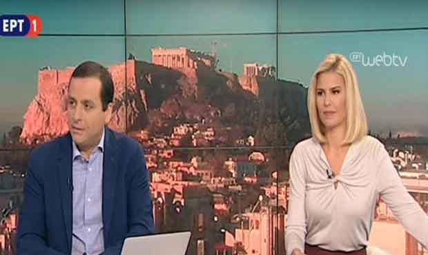 ΕΡΤ: Εισβολή Καλφαγιάννη σε εκπομπή και επίθεση κατά παρουσιάστριας   tanea.gr