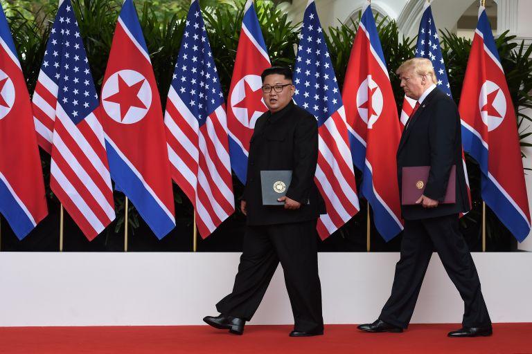 ΗΠΑ – Β. Κορέα: «Iστορική» συνάντηση χωρίς σημαντική τομή | tanea.gr