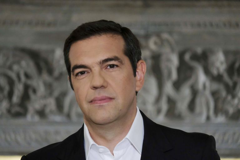Tsipras announced agreement with FYROM as 'great diplomatic victory' | tanea.gr