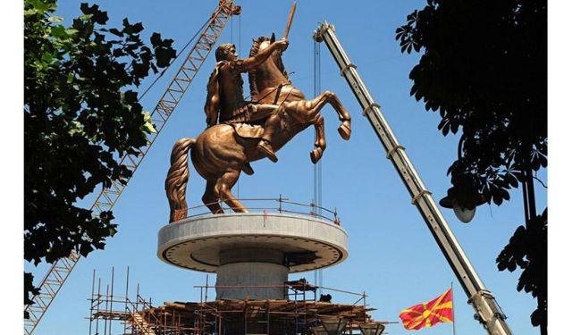 Θ' ανταλλάξουν αγάλματα Σκόπια και Θεσσαλονίκη | tanea.gr
