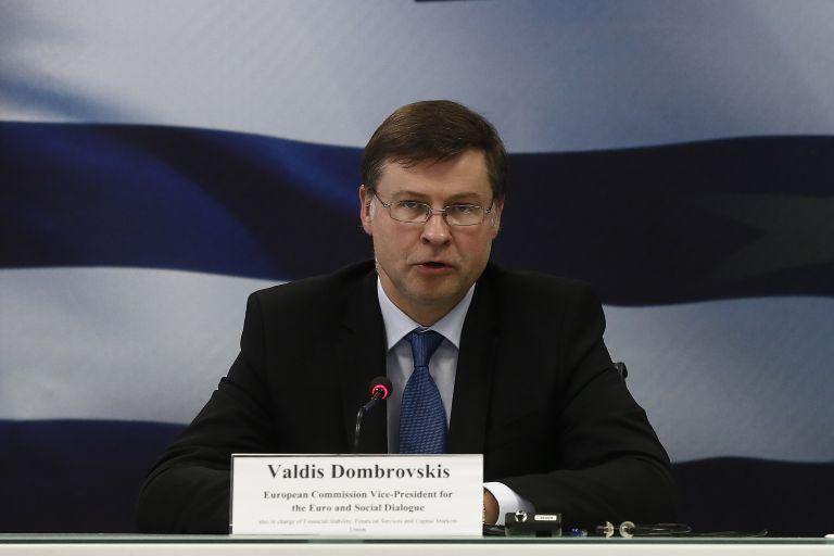 Ντομπρόβσκις: Προσπάθεια για συνολική συμφωνία στο Eurogroup | tanea.gr