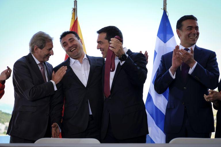 Συμφωνία στις Πρέσπες: Επιχείρηση «πειθούς» των Σκοπιανών | tanea.gr