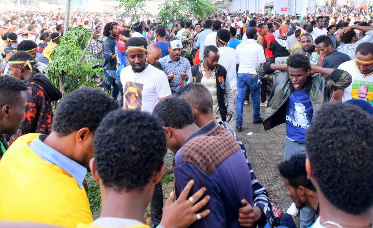 Νεκροί και τραυματίες σε πολιτική συγκέντρωση στην Αιθιοπία | tanea.gr
