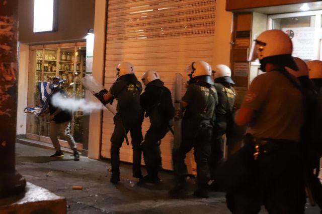 Επεισόδια στην πορεία για τη Μακεδονία στη Θεσσαλονίκη (βίντεο) | tanea.gr
