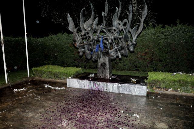 ΝΔ Θεσσαλονίκης: Καταδικάζει τη βεβήλωση του μνημείου Ολοκαυτώματος | tanea.gr