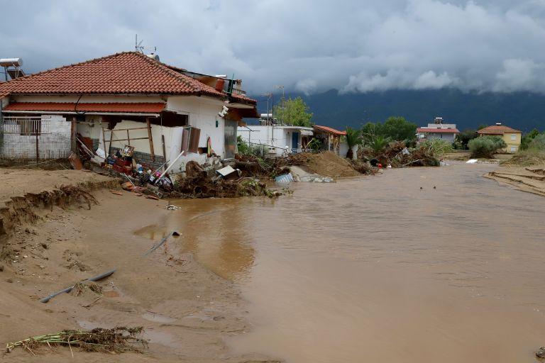 Βρασνά Θεσσαλονίκης: Εικόνες καταστροφής μετά τις πλημμύρες | tanea.gr