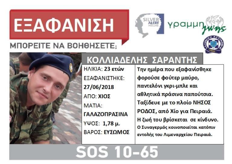 Θρίλερ με τον 23χρονο που εξαφανίστηκε πάνω από πλοίο – Συγκλονιστική μαρτυρία   tanea.gr
