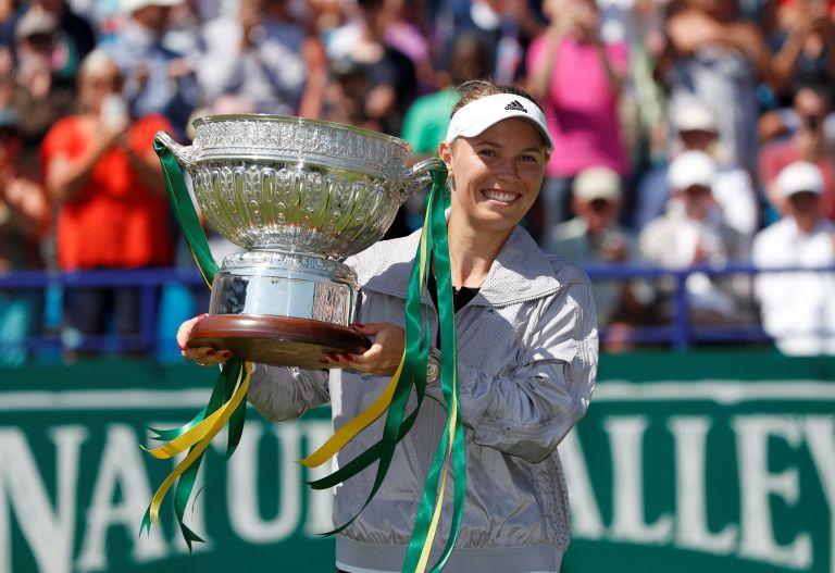 Τένις: Πρώτος τίτλος για την Βοζνιάκι στο γρασίδι | tanea.gr