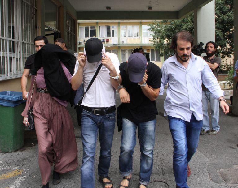 Τουρκία: Ελεύθεροι αφέθηκαν οι τρεις Γάλλοι υπήκοοι   tanea.gr