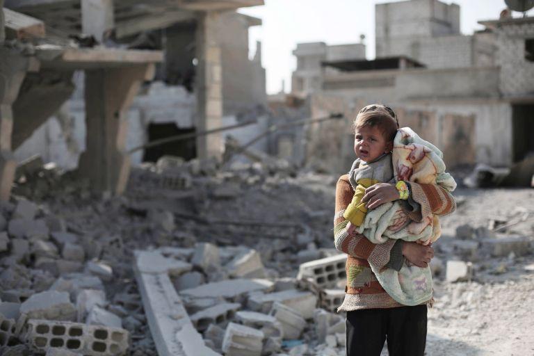 OHE : Δραματική αύξηση θανάτου παιδιών στη Συρία   tanea.gr