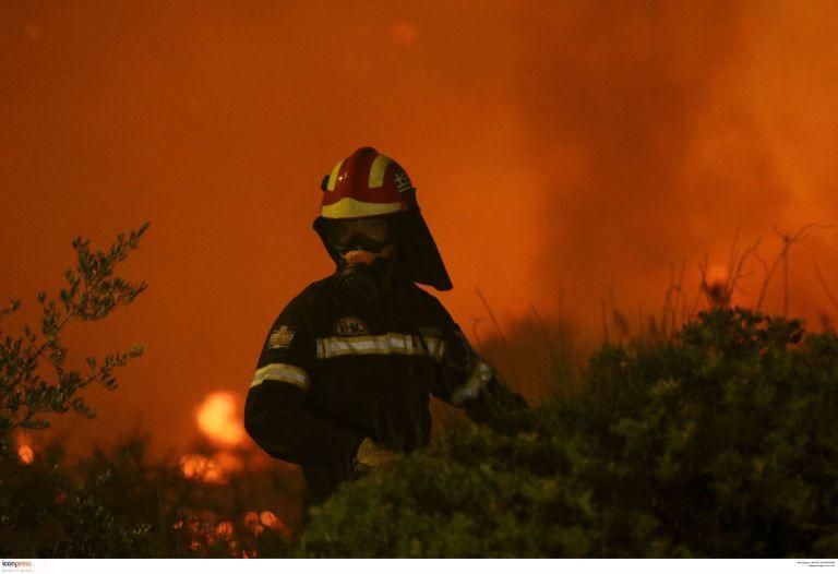 Υπό μερικό έλεγχο η πυρκαγιά στο Μεσολόγγι | tanea.gr