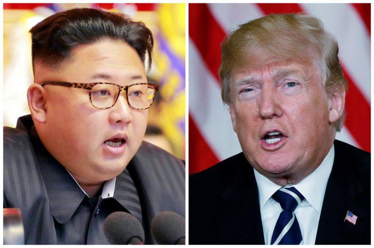 Χαρούμενος δηλώνει ο Τραμπ για τις διαπραγματεύσεις με την Β. Κορέα | tanea.gr