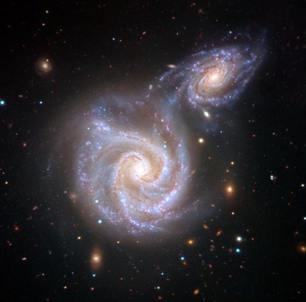Αρχαία μετωπική σύγκρουση του γαλαξία μας με γαλαξία «λουκάνικο» | tanea.gr