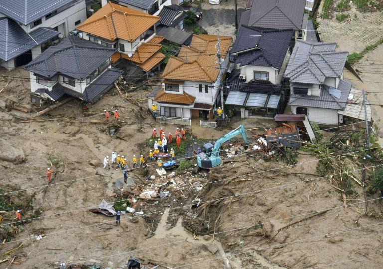 Ιαπωνία: Στους 49 οι νεκροί από τις καταρρακτώδεις βροχές   tanea.gr