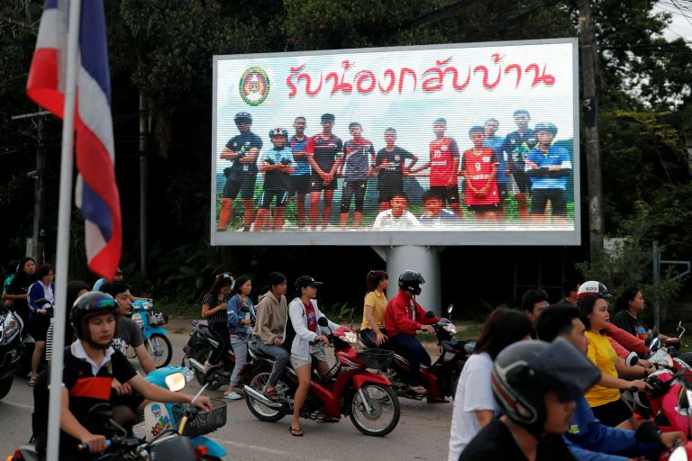 Ταϊλάνδη: Το χρονικό της διάσωσης που συγκλόνισε τον κόσμο   tanea.gr