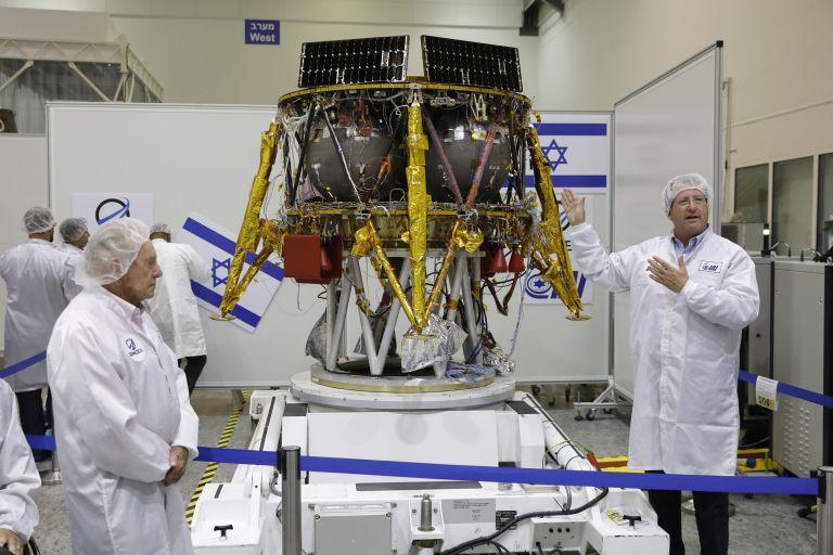 Το πρώτο ισραηλινό διαστημόπλοιο θα προσεληνωθεί τον Φεβρουάριο | tanea.gr
