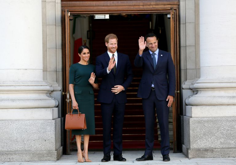 Στο Δουβλίνο το πρώτο επίσημο ταξίδι του πριγκιπικού ζεύγους | tanea.gr