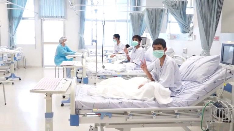 Ταϊλάνδη : Μετρούν ημέρες τα παιδιά για να βγουν από το νοσοκομείο | tanea.gr