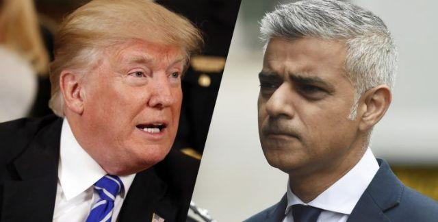 Νέα σφοδρή επίθεση Τραμπ στον δήμαρχο του Λονδίνου   tanea.gr