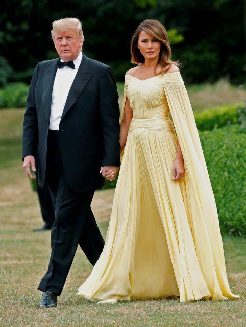 Η Μελάνια Τραμπ και το κίτρινο του Γκογκέν   tanea.gr