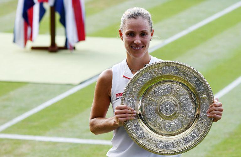 Τένις : «Βασίλισσα» του Γουίμπλεντον η Κέρμπερ | tanea.gr