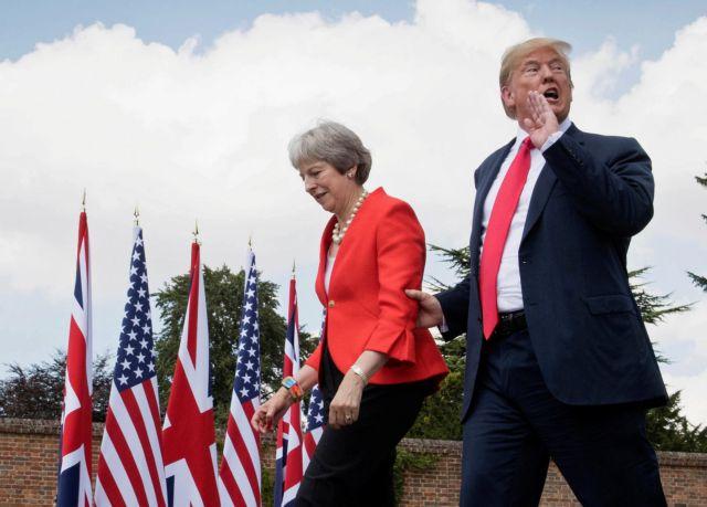 Τα αμερικανικά χαστούκια και ο διχασμός των Βρετανών | tanea.gr
