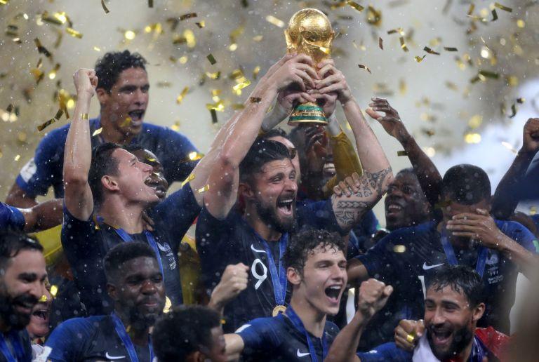 Ο Τραμπ συνεχάρη τη Γαλλία για το Παγκόσμιο Κύπελλο | tanea.gr