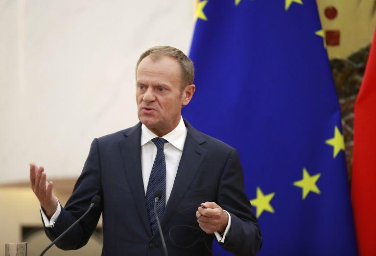 Ντόναλντ Τουσκ: «Η Ευρώπη θα μείνει στο πλευρό των ελλήνων φίλων μας»   tanea.gr