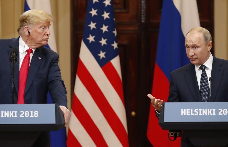 Τραμπ : Αναπομονώ για μία δεύτερη συνάντηση με τον Πούτιν | tanea.gr