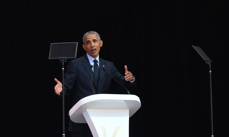 Ο Ομπάμα απάντησε στον Τραμπ από το Γιοχάνεσμπουργκ | tanea.gr