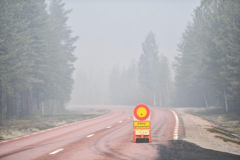 Στο έλεος πυρκαγιών η Σουηδία | tanea.gr
